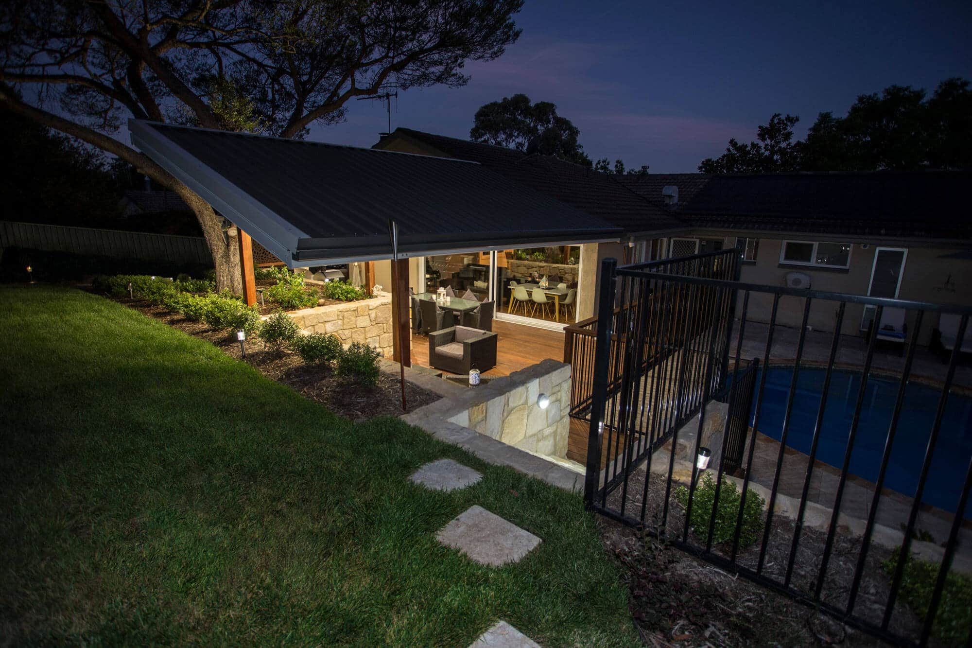 Gardengigs-After-Torrens-Project-Pool-Full-View-of-Lounge-and-Pool-at-Night