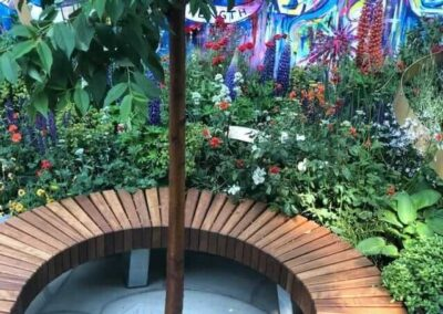 Gardengigs-Chelsea-Flower-Show-Bench-Under-the-Little-Tree