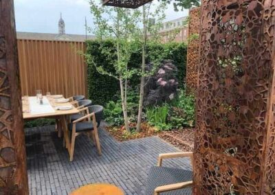Gardengigs-URBAN-FLOW-Chelsea-Flower-Show-Garden-Reception