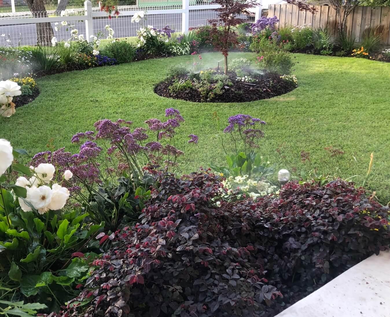 Gardengigs Garden Landscape Latest Work - Outdoor Garden with Center Tree